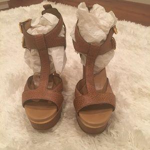 Rare Gucci Sandals Platform Sandals 37.5
